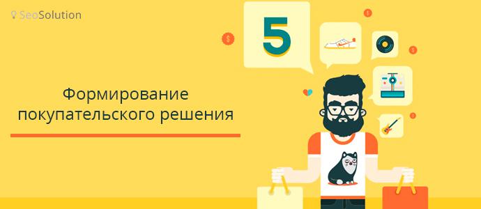6 этапов принятия решения о покупке