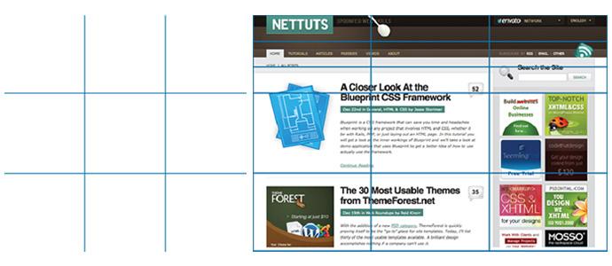 Расчет золотого сечения в дизайне сайта