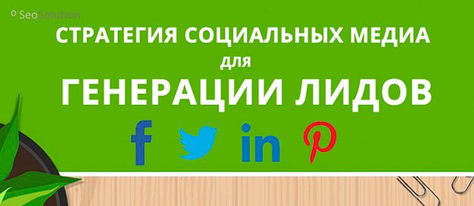 Стратегия социальных медиа для генерации лидов [инфографика]